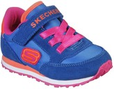 Skechers Toddler Girls Strap Trainers - Blue
