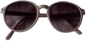 Linda Farrow Beige Plastic Sunglasses
