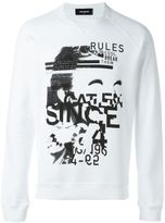 DSQUARED2 'Dyed Rules' sweatshirt
