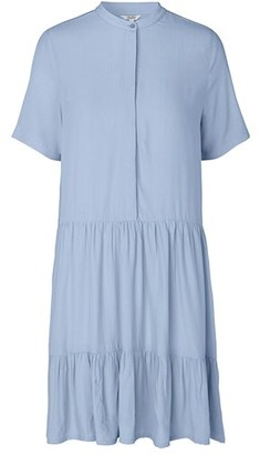 MBYM LECIA DRESS - BLUE - blue | M . - Blue/Pink/Pink