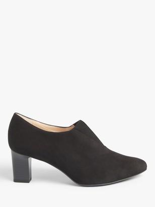Peter Kaiser Miaka Suede Block Heel Shoe Boots, Black