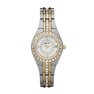Queens Court Relic by Fossil Women's Queen's Court Quartz Two-Tone Stainless Steel Sport Watch