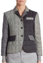 Thom Browne Wool Down Jacket