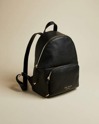 Ted Baker Zip Detail Soft Leather Backpack