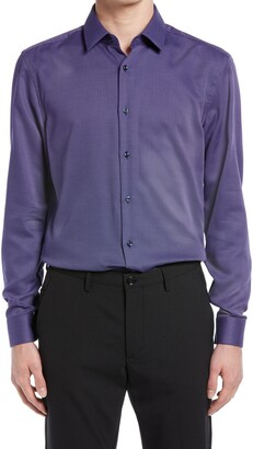 HUGO BOSS Isko Slim Fit Button-Up Dress Shirt