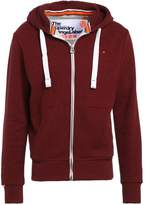 Superdry Tracksuit top bright berry grit