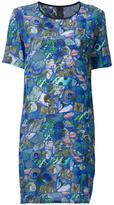 Romance Was Born shattered print dress - women - Silk - 12