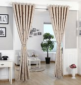 WPKIRA Country Birds Curtain Blackout Curtain Fabric Bedroom Windows and Curtains Room Darkening Thermal Insulated Solid Grommets Curtains/Drapes , 1 Panel W75 x L84 inch