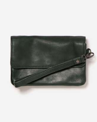 Stitch & Hide - Women's Green Purses - Munich Pouch - Size One Size at The Iconic