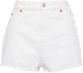 IRO Flita Lace-up Denim Shorts