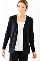 J. Jill Pure Jill Tencel®-Soft Knit Open-Front Jacket