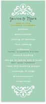 Minted Floral Frame Wedding Programs