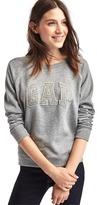 Gap Stud logo pullover sweatshirt