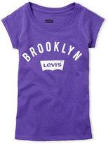 Levi's Girls 4-6x) Purple Brooklyn Tee