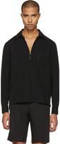 Lanvin Black Zip-Front Shirt