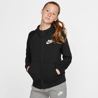 Nike Girls' Sportswear Full-Zip Hoodie