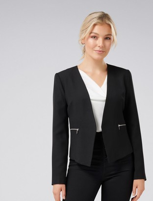 Forever New Ruby-Rose Petite Jacket - Black - 4