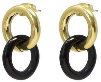 Soko Kumi Mixed Material Stud Earrings