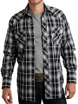 Black Plaid Shirt Men - ShopStyle