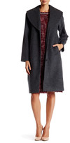 Canvas by Lands' End Canvas by Lands& End Shawl Cocoon Wool Blend Coat