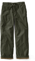 Classic Boys Slim Iron Knee® Lined Pull-on Beach Pants-Dark Nautical Red