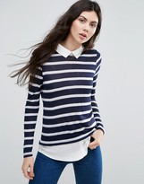 Vero Moda Stripey Sweater Shirt