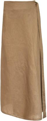 ALBUS LUMEN Wrap Skirt
