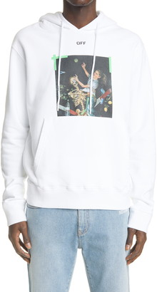 Off-White Pascal Painting Cotton Hoodie