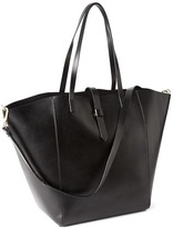 Gap Faux leather large satchel