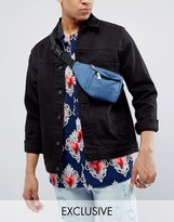 Reclaimed Vintage Inspired Bum Bag In Denim