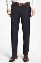 BOSS Men's 'Sharp' Flat Front Wool Trousers