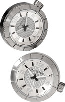 Jan Leslie Sport Watch Cuff Links, Silvertone