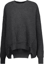 Jil Sander Ribbed wool and cashmere-blend sweater