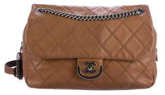Chanel Paris-Edinburgh Coco Sporran Large Flap Bag