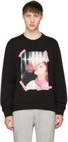 Kenzo Black 'Girl With Rose' Sweatshirt