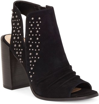 Machinie Studded Peep-toe Bootie