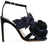 Sophia Webster floral-embellished sandals