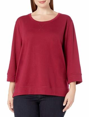 Karen Neuburger Women's Side Split Pullover