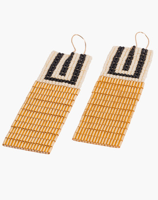 Madewell Tribe Alive Deco Beaded Earrings
