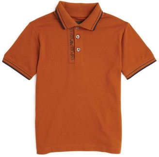 Emporio Armani Kids Logo Polo Shirt (4-16 Years)