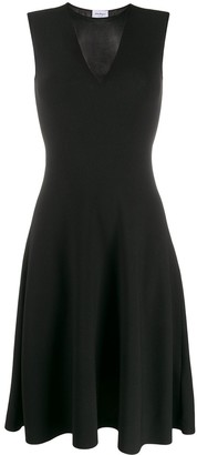 Salvatore Ferragamo Sheer Detail Dress