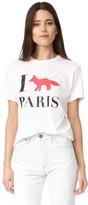 MAISON KITSUNÉ I Fox Paris Tee Shirt