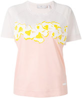 adidas by Stella McCartney graphic floral detail top - women - Polyester - XS