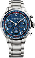 Baume & Mercier Men's Swiss Automatic Chronograph Capeland Stainless Steel Bracelet Watch 44mm M0A10066