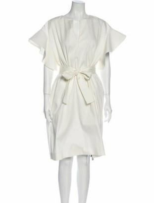 Chloé 2013 Midi Length Dress White