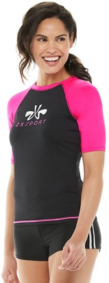 Juniors' ZX Sport Raglan Rash Guard