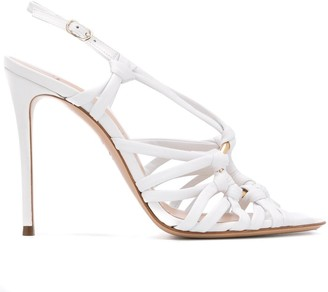 Casadei Strappy High Heel Sandals