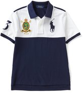 Ralph Lauren Big Boys 8-20 Color Block Short-Sleeve Polo Shirt