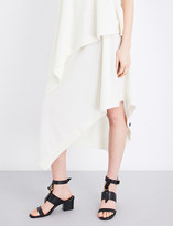 Pringle Asymmetric-hem cashmere skirt