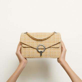 Sandro Yza tweed bag